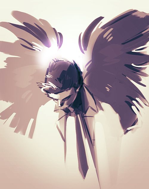 Castiel by hoursago | Anime/other art | Supernatural