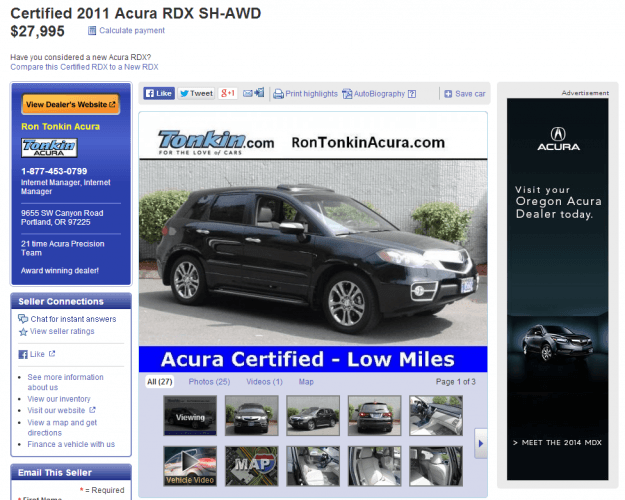 the best website for used cars