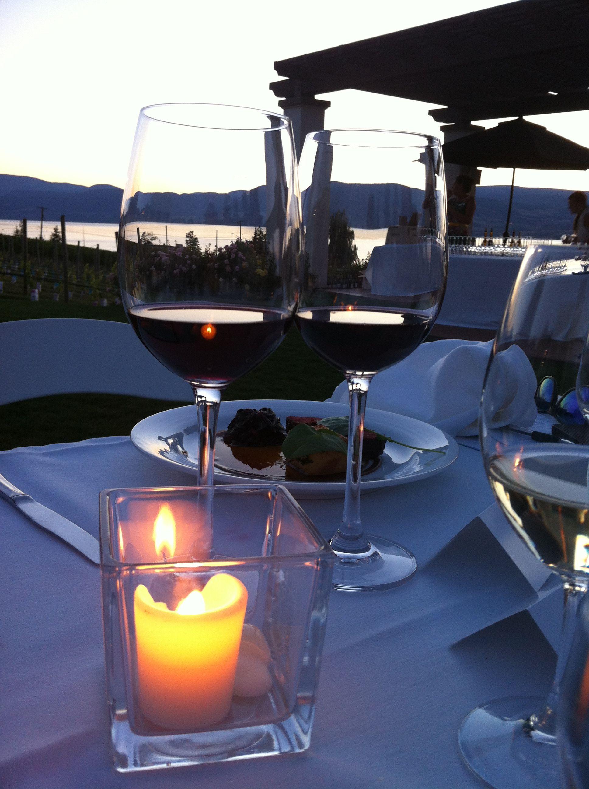 Perfect evening at Cedar Creek Winery