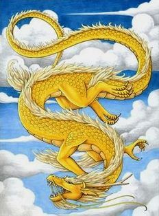 gold dragon of the center