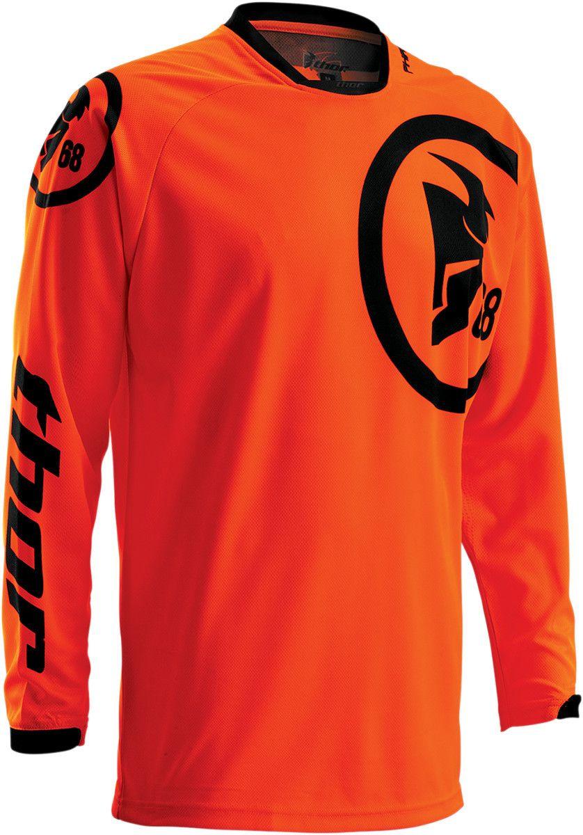 Thor 2016 Phase Gasket FLO Orange/Black Jersey Orange