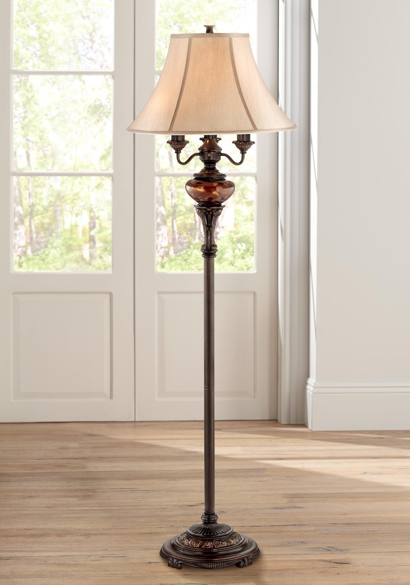 Floor Lamps Bronze Tortoise Shell Font Floor Lamp By Barnes And Ivy In 2020 Traditional Floor Lamps Swing Arm Floor Lamp Bronze Floor Lamp