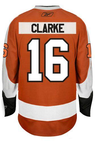 Philadelphia Flyers Vintage Bobby Clarke 16 A Official Home Reebok Premier Re Coolhockey Philadelphia Flyers Nhl Hockey Jerseys Hockey Jersey