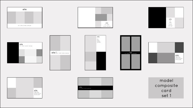 Comp cards psd templates for shayna pinterest model comp card psd templates and models for Comp card example