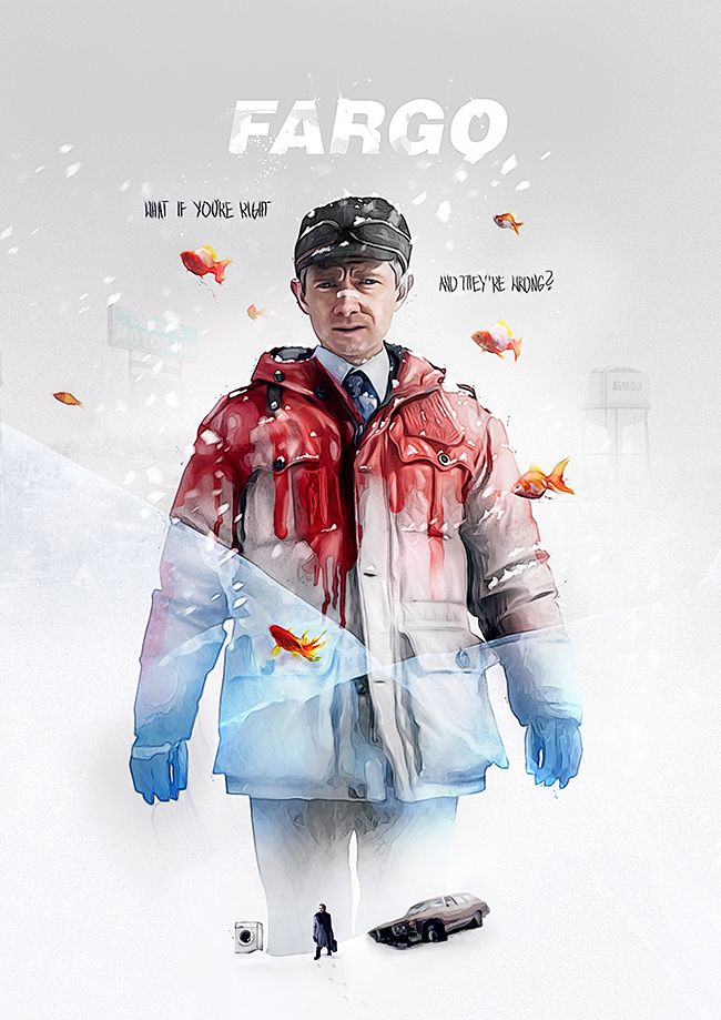 Tv Show Series 3 Posters By Adam Spizak Exclusive On Funkrush Abduzeedo Design Inspiration Fargo Tv Series Fargo Tv Show Tv Series