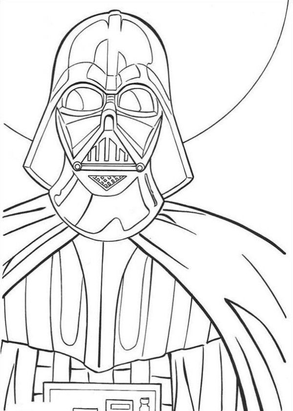 Darth Vader Coloring Pages Best Coloring Pages For Kids Coloring Pages For Kids Darth Vader Disney Coloring Pages