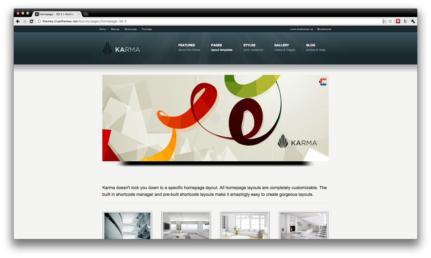 Karma is a professional Premium Wordpress Theme, suitable for small ...