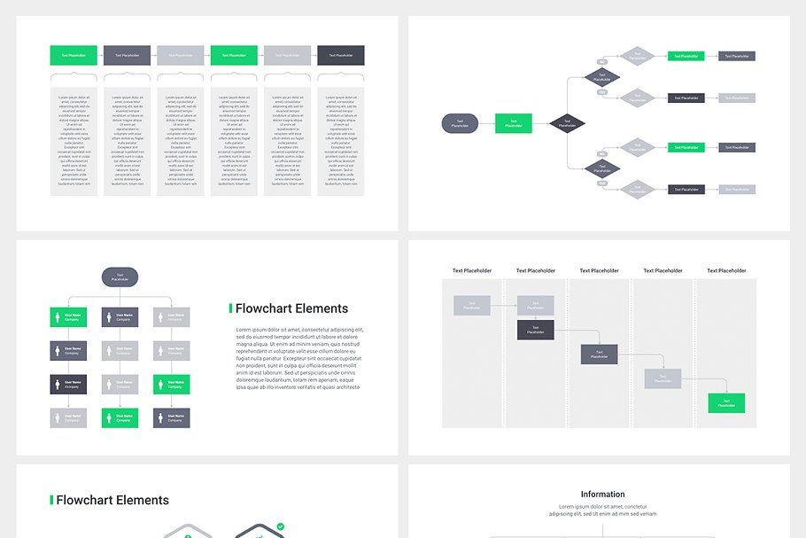 Flowchart PowerPoint Templates in 2020 Keynote template