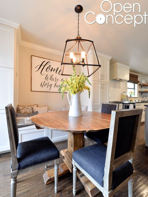 Hey there! Join us on Instagram and Pinterest to keep up with our most recent projects and sneak peeks! We have had a lot of request for the free plans to this round table that we built, for the Nicholson's breakfast nook, for our pilot Open Concept on HGTV! So excited to share them with {...Read More...}