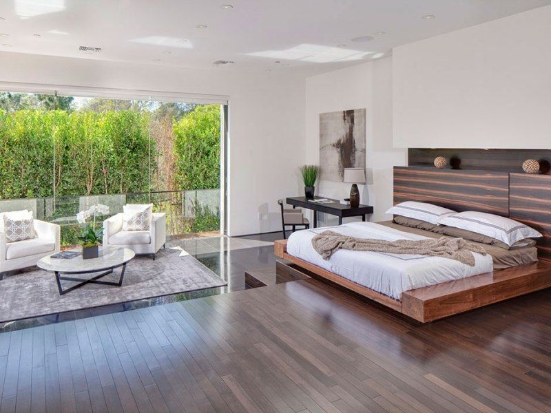 Bett Kopfteil aus Holz mit modernem Design | Einrichtung | Pinterest ...