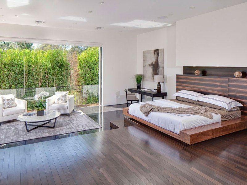 Bett Kopfteil aus Holz mit modernem Design