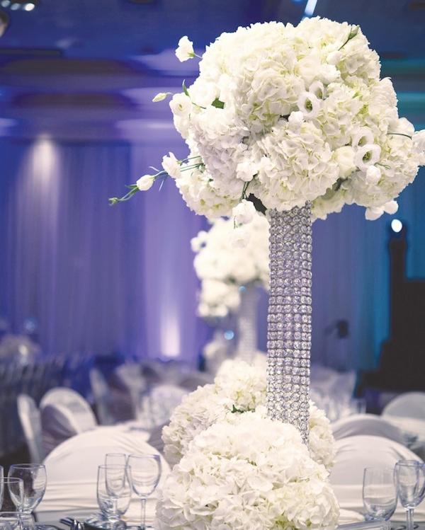 bling centerpieces wedding reception - Wedding Decor Ideas