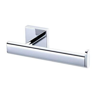 Gatco Elevate Euro Single Post Toilet Paper Holder In Chrome 4053 The Home Depot Gatco Paper Holder Tissue Paper Holder