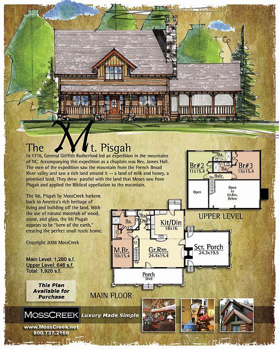 Mt Pisgah Barn House Plans Lake House Plans Log Home Plans