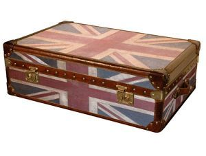 Vintage Union Jack Storage Trunk Coffee Table  sc 1 st  Pinterest & Vintage Union Jack Storage Trunk Coffee Table | Liking wanting ...