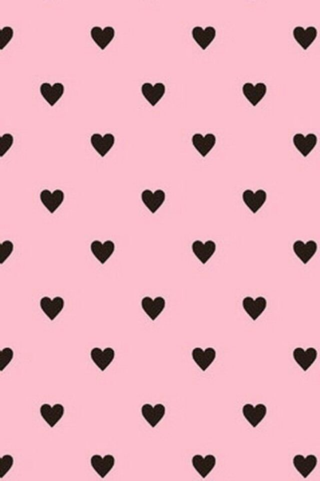 Cute Black And Pink Wallpaper