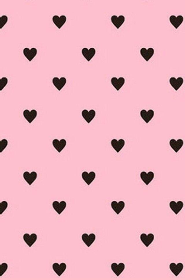 Cute Black And Pink Wallpaper Pink Wallpaper Iphone Cute Black
