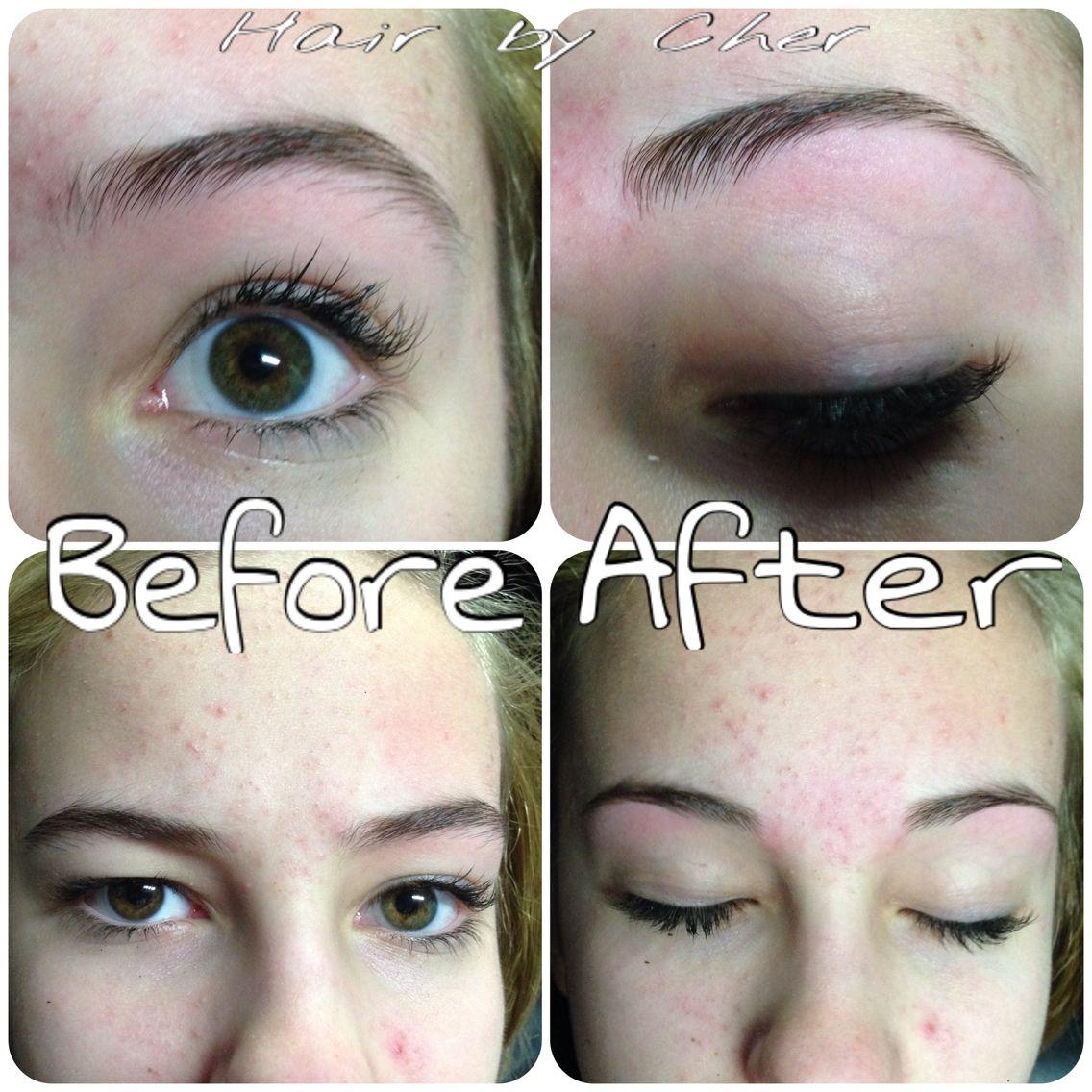 Eyebrow Waxing Before And After Waxed Eyebrows Hair Art Eyebrows