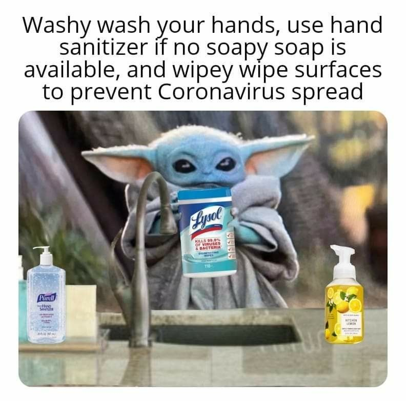 Pin By Hope Naismith Morgan On By The Child Aliens Space Fantasy Funny Memes Yoda Lysol