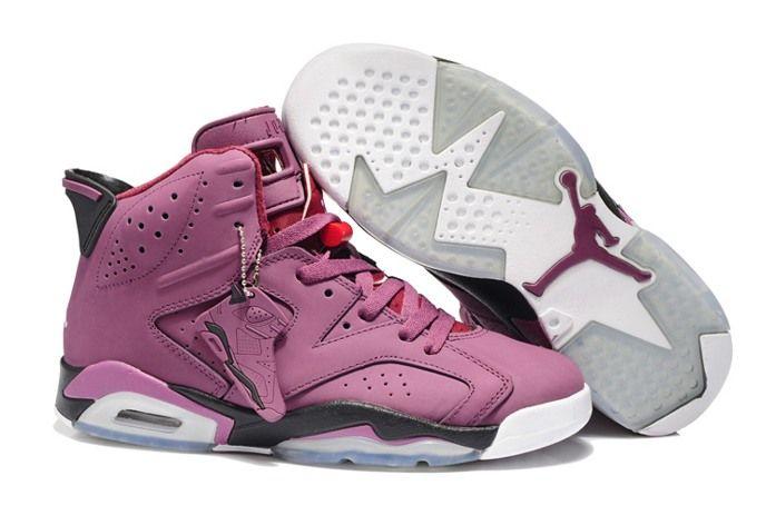 Nike Air Jordan 6 VI Mens Shoes Rosy