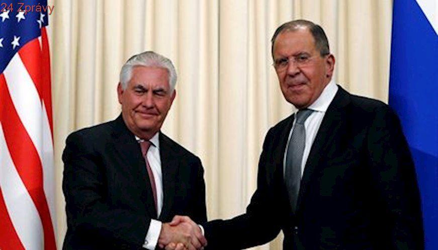 V září Amerika zareaguje na ruské omezení počtu diplomatů, říká Tillerson