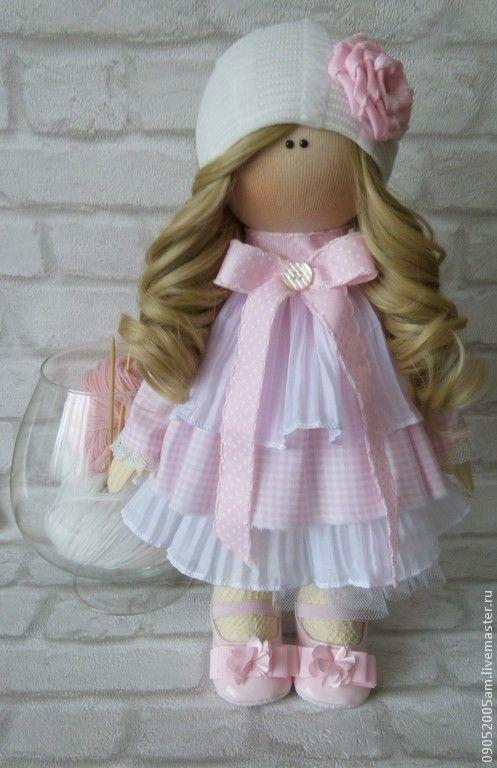 текстильная кукла (бронь) - розовый,кукла,кукла ручной работы,кукла в подарок