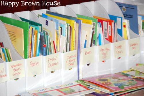 Organizing Children S Books Coloring Book Storage Kids Book Storage Book Organization