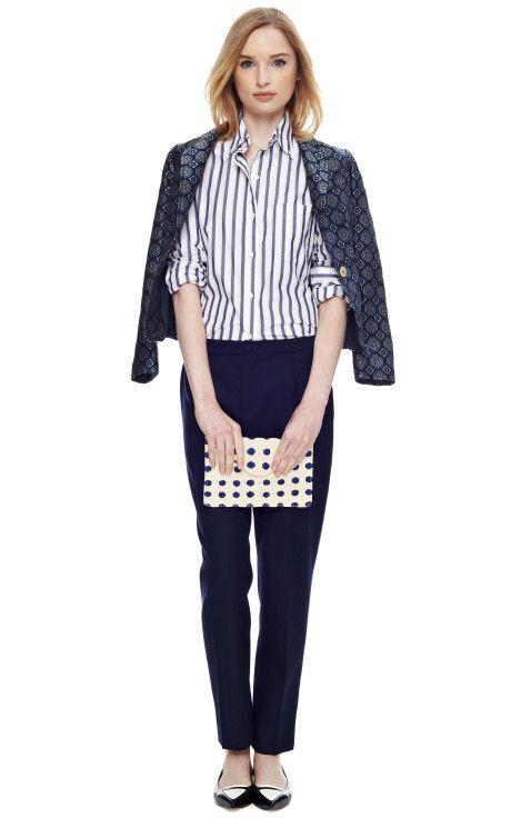 Geometric Print Jacket by Pierre Balmain - Moda Operandi