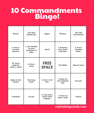 image relating to Free Printable Bible Bingo Cards referred to as No cost Printable Bingo Playing cards PSR Bingo, Sunday college or university