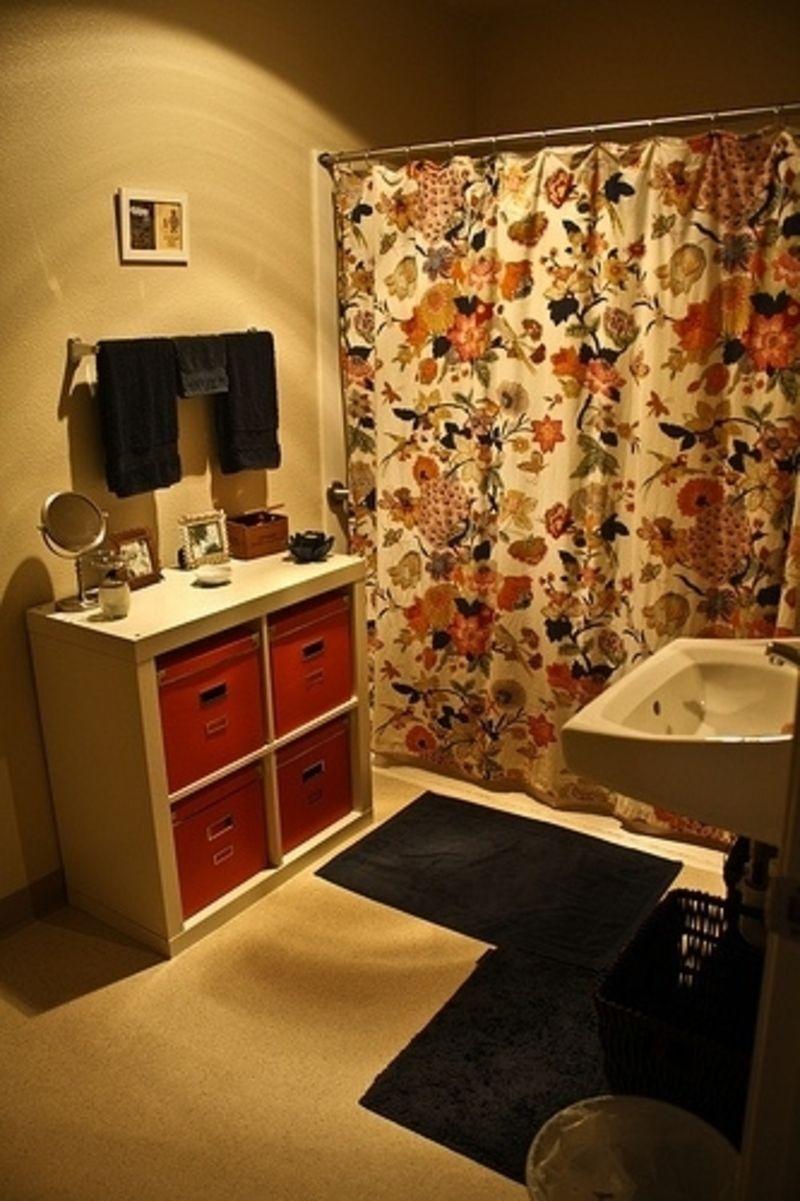22. Free #Standing Unit - 48 Super #Smart Bathroom #Organization Ideas ... → DIY #Corner