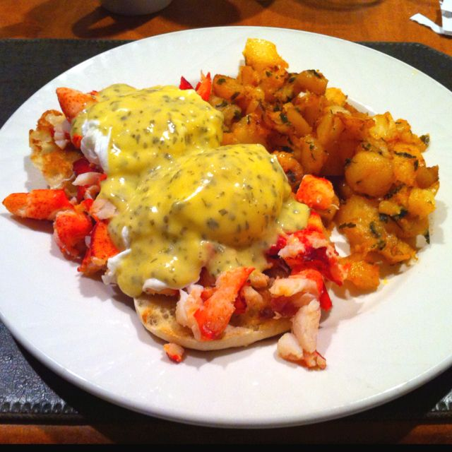 Lobster Eggs Benedict. | delicious. | Pinterest