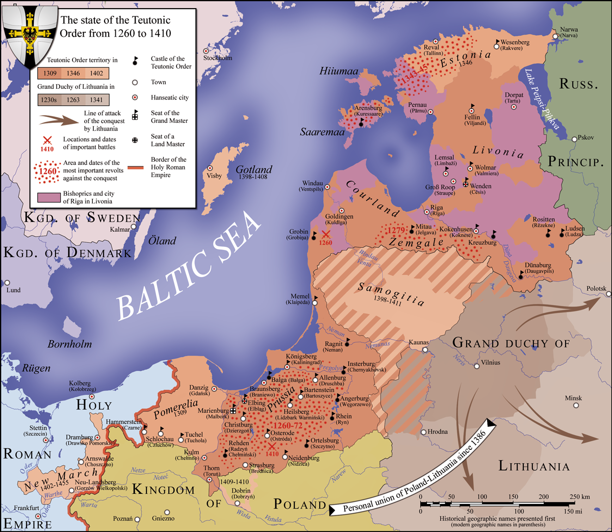 Northern Crusades   Europe   Historical maps, Map, History on ancient egypt world maps, assassin's creed flag maps, knights templar travel maps, religion world maps,