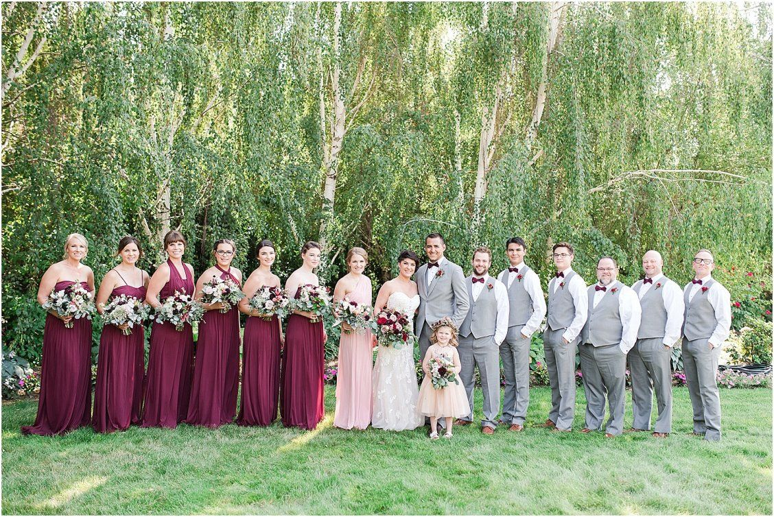 Yellow Rose Nursery Prosser Wa Donovan And Julie Wedding Party Wedding Wedding Colors Real Weddings