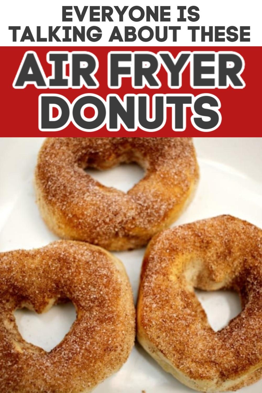 Air Fryer Donuts Recipe in 2020 Donut recipes, Sugar