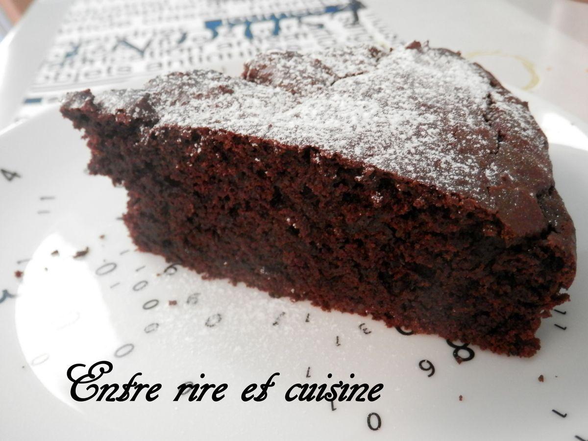 Gâteau Hyper Moelleux au Chocolat (sans oeufs)