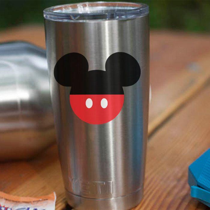 Mickey Mouse Vinyl Decal Disney Sticker Mickey Sticker Yeti - Yeti tumbler stickers