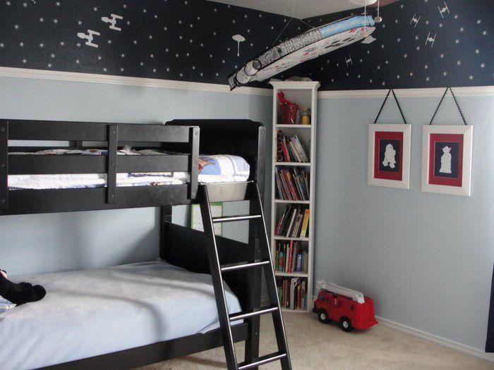 idee camera ragazzi star wars letto a castello | Star Wars Home ...