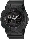 Casio Men's GA100-1A1 Black Resin Quartz Watch with Black Dial [Watch] Casio - http://tonysgifts.net/2015/02/08/casio-mens-ga100-1a1-black-resin-quartz-watch-with-black-dial-watch-casio/