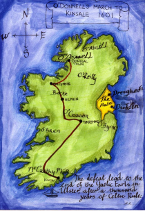 O Donnell Castle Ireland Route Of Red Hugh O Donnell S March To