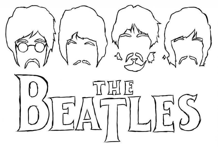 Pin de Martin Ruiz en serigrafia | The Beatles, Coloring pages y ...