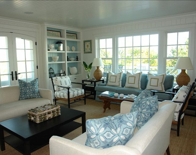Best Living Room Living Room With Coastal Decor Great Living 400 x 300