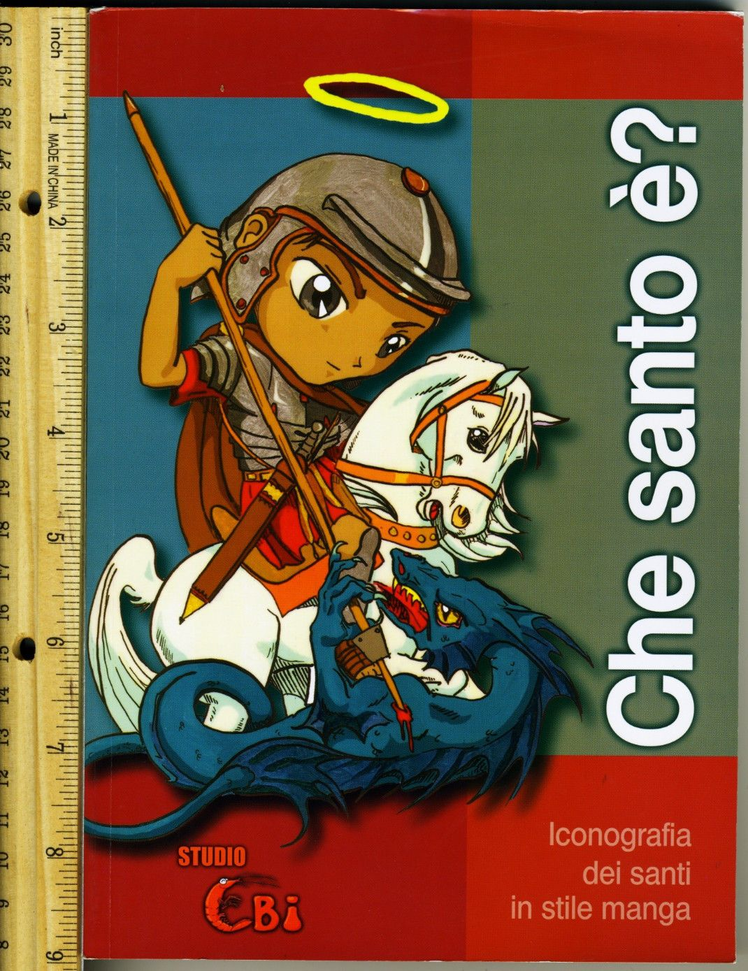 Beautiful book: Che santo è?  Iconography of the Saints in manga style