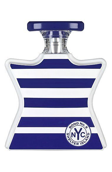 Fragrance: Bond No. 9 Shelter Island Fragrance ($220) Notes: Citrus, black pepper, white lilies, algae extr...
