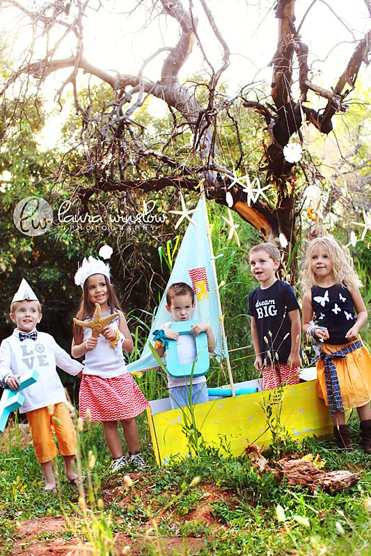 Nautical Themed Props And Clothes For Kid Photo Shoot Family Photography Pinterest