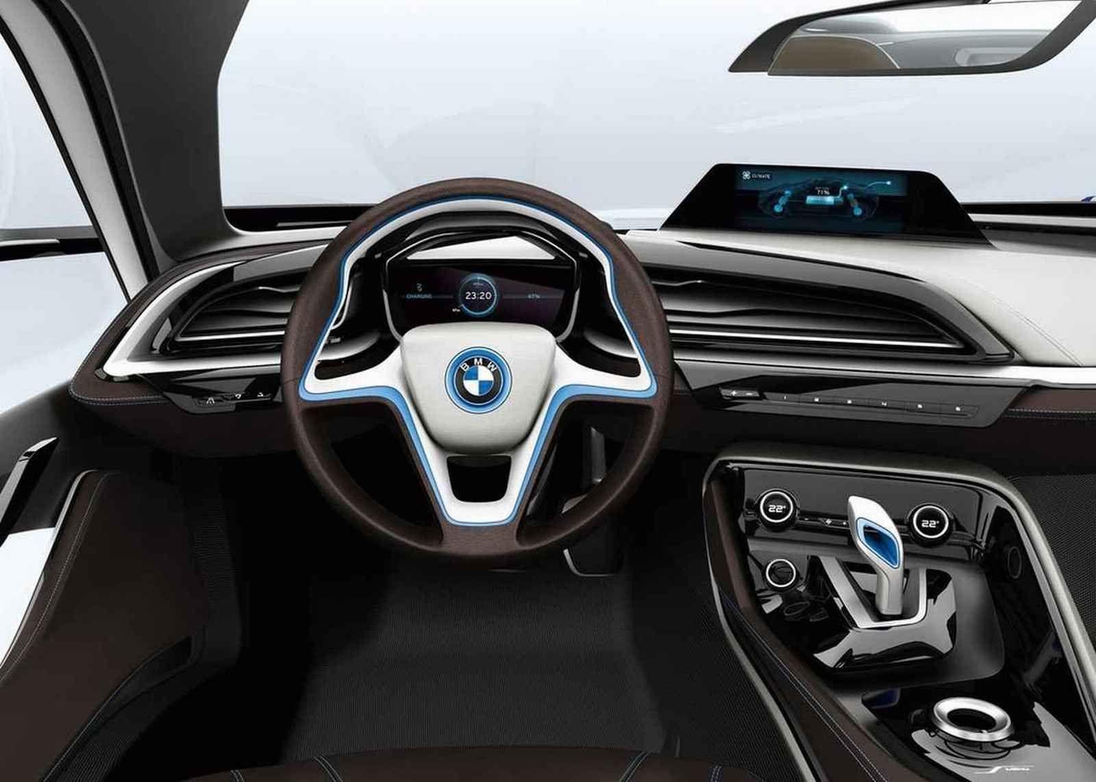 2011 BMW I8 Concept Interior 2 1600x1141