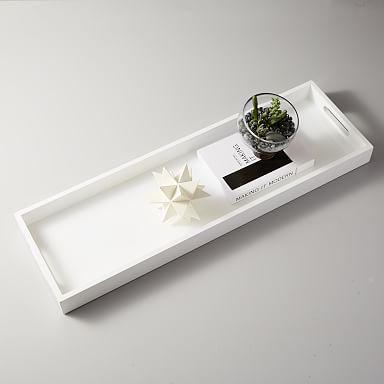 Decorative Trays Coffee Table Trays West Elm Wood Tray