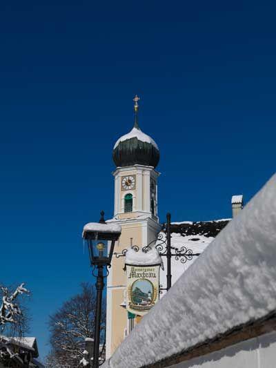 Oberammergau, Pfarrkirche St. Peter und Paul