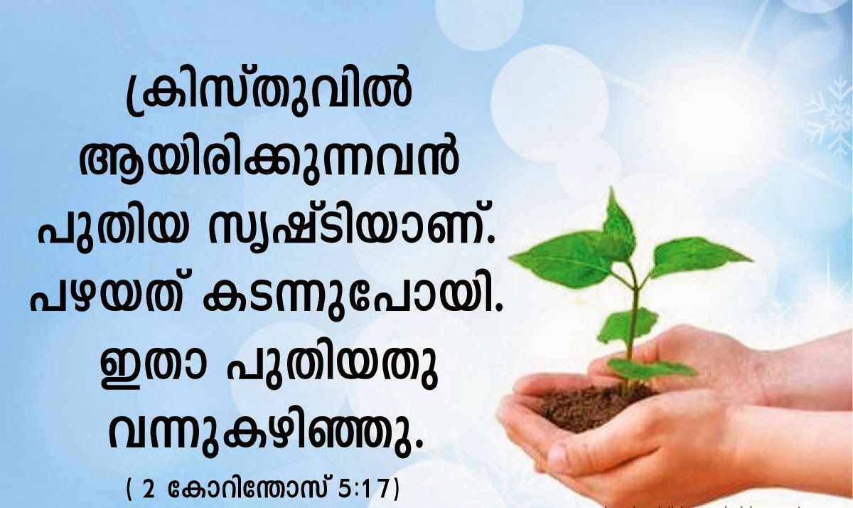 MALAYALAM BIBLE QUOTES | kerala catholics | Malayalam ...