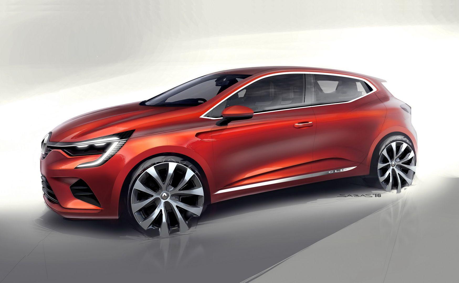 2020 Renault Clio Is Ready To Conquer The Supermini Segment Carscoops Renault Clio Car Design Car