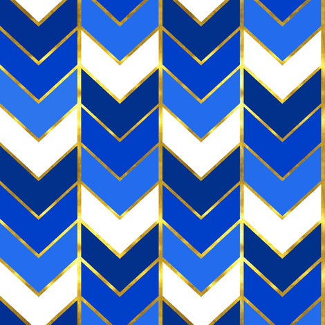 Colorful Fabrics Digitally Printed By Spoonflower Gilded Ombre Herringbone In Blue Pattern Wallpaper Chevron Wallpaper Iphone Wallpaper Pattern